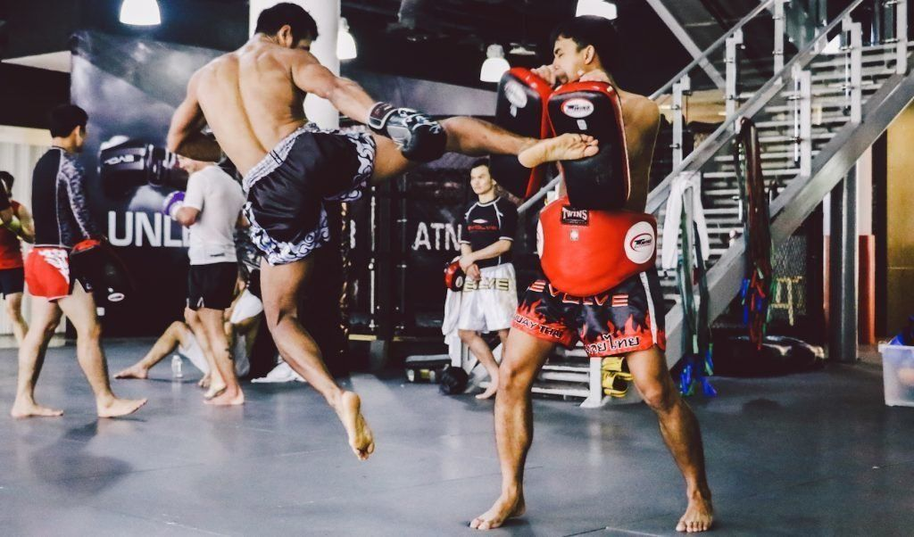 Study at Muay Thai gym