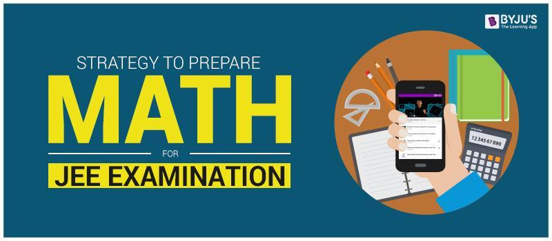 Prepare Math for JEE Examination